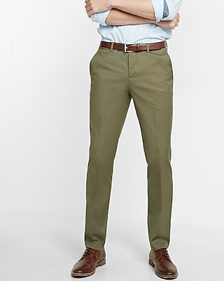 Express.com deals on Express Mens Slim Fit Stretch Cotton Photographer Dress Pant