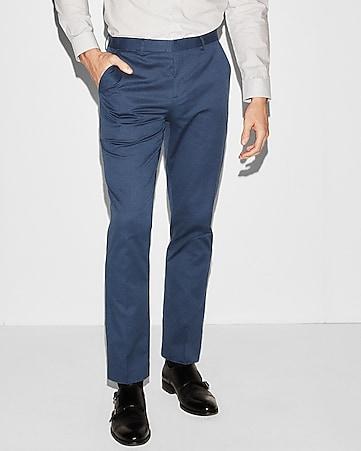 Mens Slim Fit Dress Pants Express