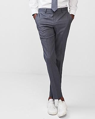 Slim Striped Stretch Dress Pants by Express