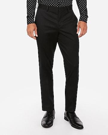 9b53d16a5 slim cotton-blend non-iron dress pant