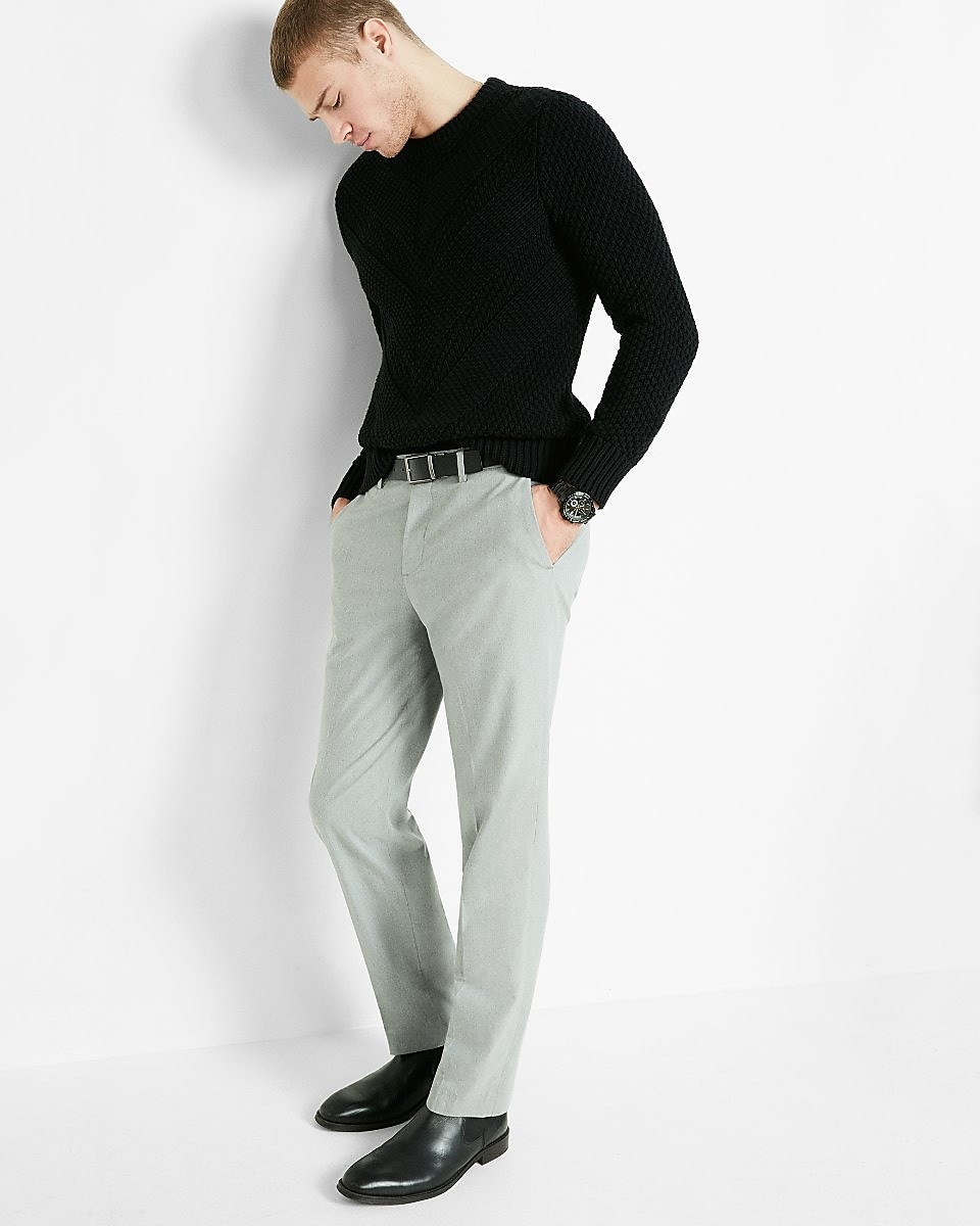 What color shoes to wear with gray dress pants style for The best white dress shirt