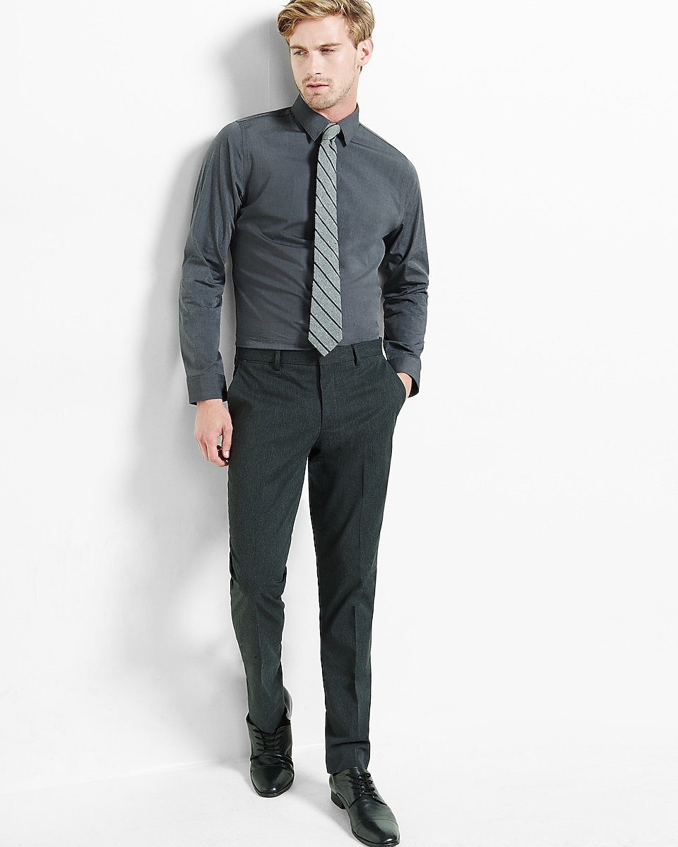 men s dress pants express view middot skinny innovator charcoal dress pant