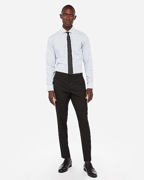 Extra Slim Wrinkle resistant Stretch Dress Pant