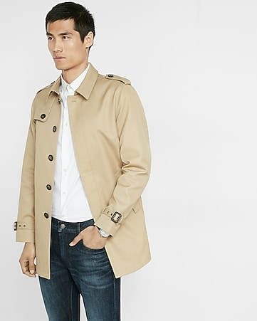 commuter trench coat