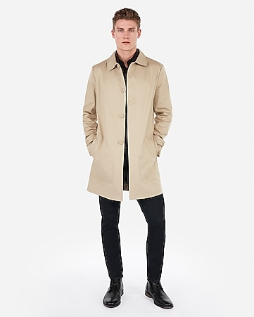 82a373a6488 Express View · water-resistant tech trench coat