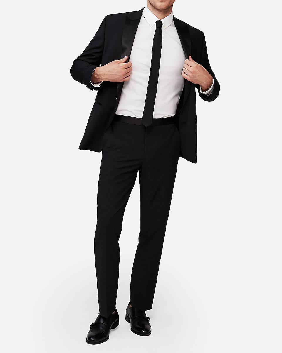What Shoes To Wear With Blue Tuxedo