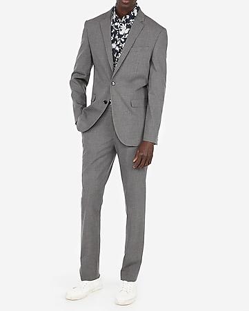 e99391cb2412 Express View · slim gray suit pant