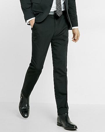 white shirt black trousers
