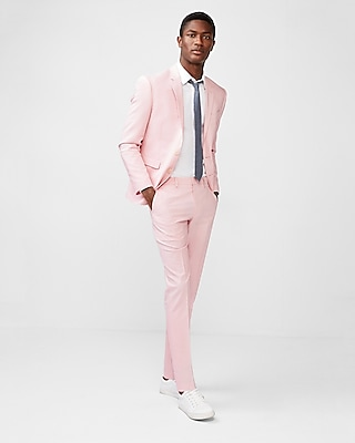 extra-slim-pink-striped-cotton-blend-textured-suit-pant by express