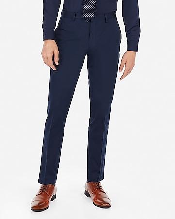 8154333de1 Express View · extra slim navy performance stretch cotton blend suit pant