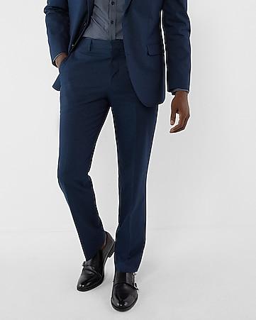 Navy Blue Cotton Suit AlPh