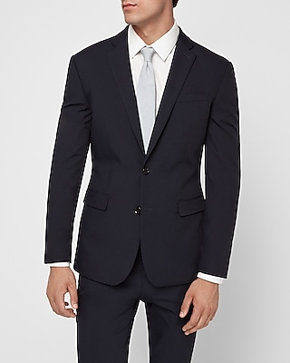 Express.com deals on Express Mens Extra Slim Navy Performance Tech Suit Jacket