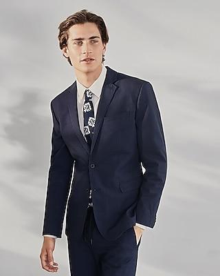 Deals List: Express Slim Striped Navy Seersucker Suit Jacket