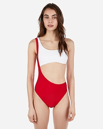 84fec6f66ef Women's One-Piece Swimsuits - Express