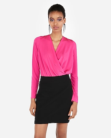 f6803e33c6 Women s Tops - Shop a Variety of Women s Bodysuits - Express