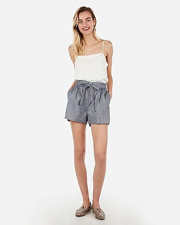 3b22dbd1762d super high waisted tie waist shorts