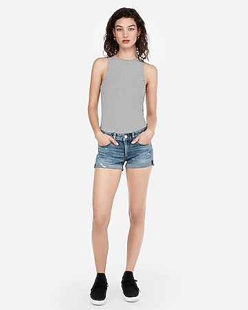 fcfc92234 Women's Denim, Soft & High Waisted Shorts - Express
