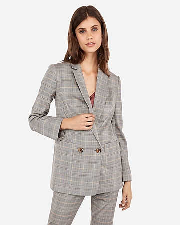29dcee6fb2d2 sleeveless belted suit dress. $98.00. $98.00. plaid double breasted patch  pocket boyfriend blazer
