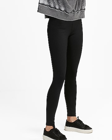 75d81d57e5f801 Express One Eleven Marled Supersoft Ankle Leggings | Express