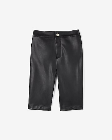 70b70398ee7c Express View · olivia culpo high waisted (minus the) leather bermuda shorts