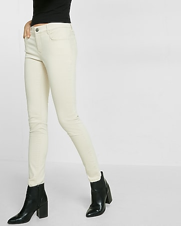 mid rise five pocket stretch legging