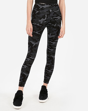 5191fe857d9ff6 Express View · high waisted sexy stretch printed leggings