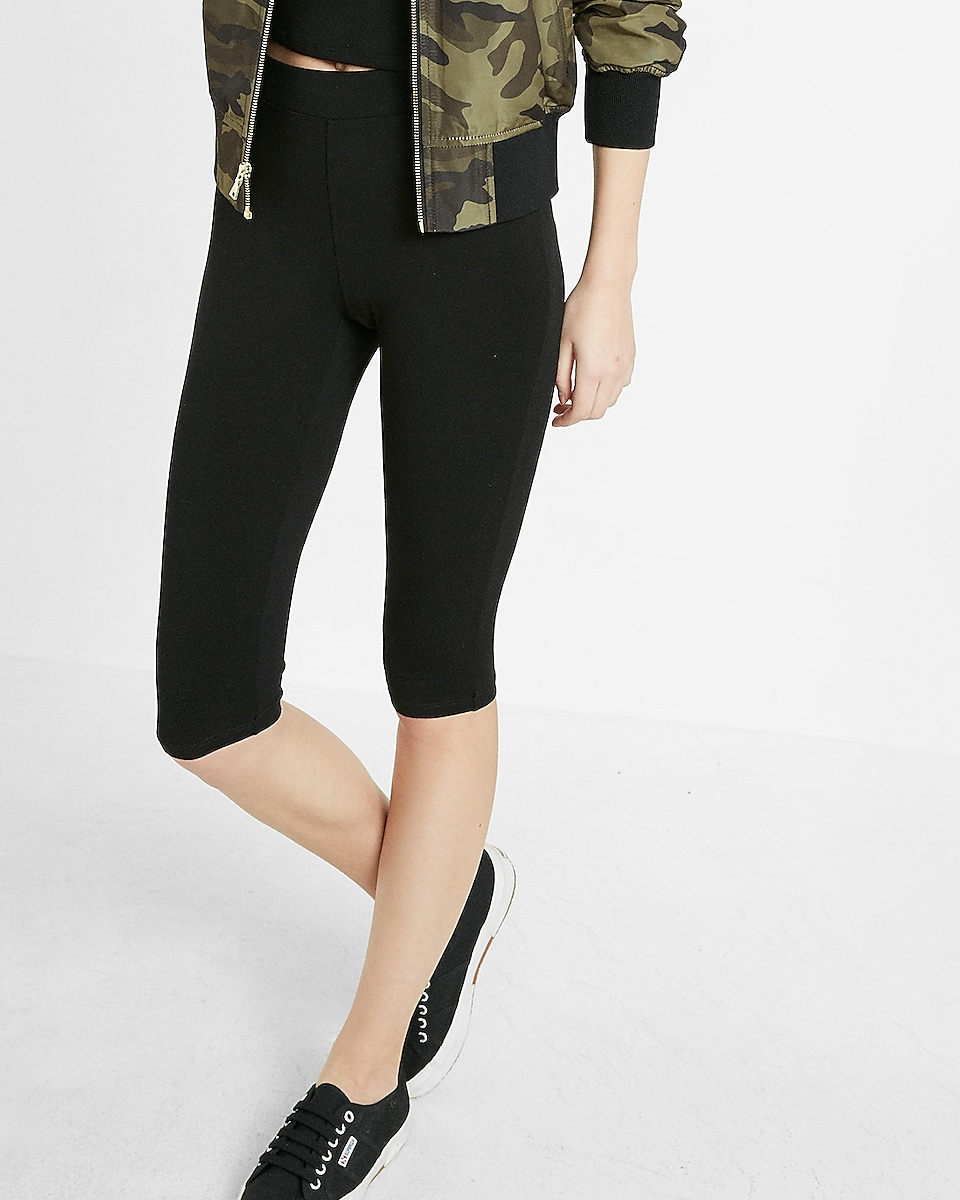 5b417f7270e43c Express View · high waisted sexy stretch cropped leggings