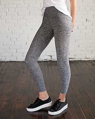 Petite express one eleven marled supersoft ankle leggings