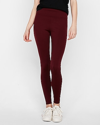 Petite high waisted stretch leggings