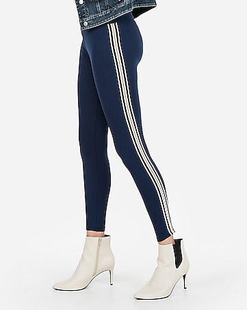 f947534e292562 Express View · high waisted side stripe supersoft leggings