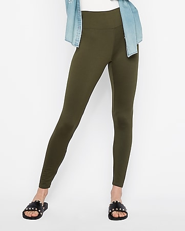 Express View One Eleven Supersoft Ankle Leggings
