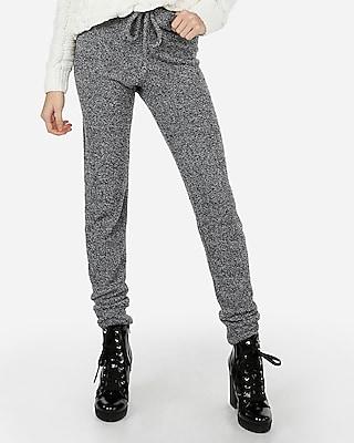 petite marled cozy chenille leggings