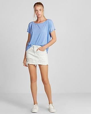 One Shoulder Shorts