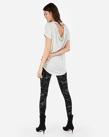 be9282e498e7 Express View · express one eleven heather strappy back london tee