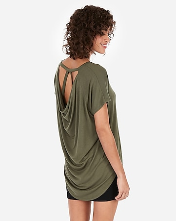 Express View · express one eleven strappy back london tee 7719d259d3bf