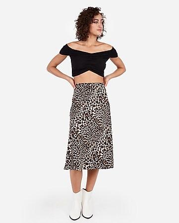 de01d5899 High Waisted Chevron Knit Mini Skirt   Express