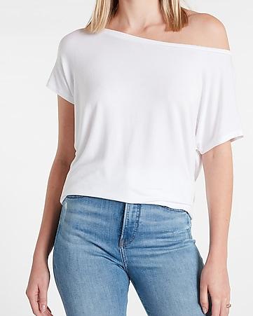 Women Sequin V Neck Cold Shoulder Slim Fit Blouse Ladies Long Sleeve T-Shirt Top