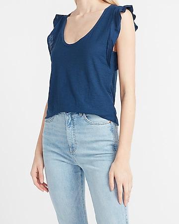 Women/'s Off Shoulder Slim Fit Bodysuit Ruffles Lace V-neck Tops Casual Blouse UK