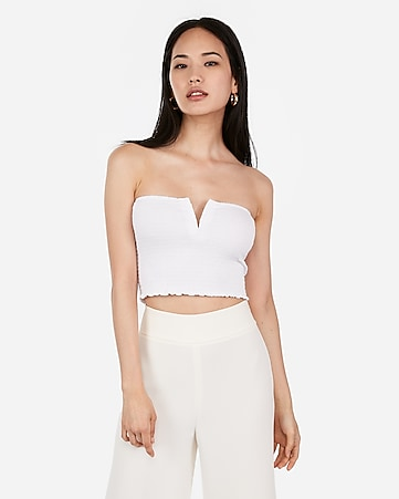 f6a48f7656f Women's Tube Tops - Strapless Tops for Women - Express