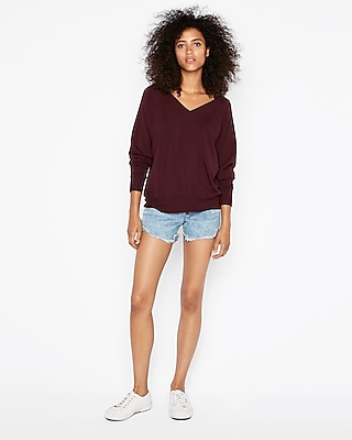 Express One Eleven Double V Sweatshirt by Express