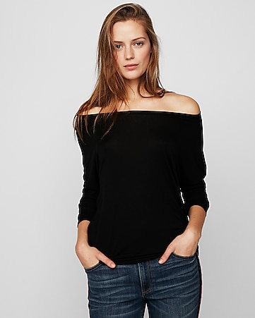 Womens Off The Shoulder Tops Express