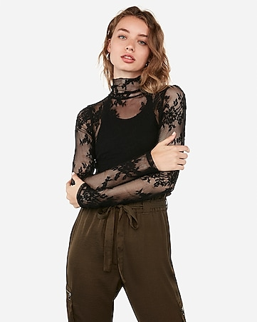 100% quality factory price provide large selection of Women's Party Tops - Going Out Tops in Lace & Sequin - Express
