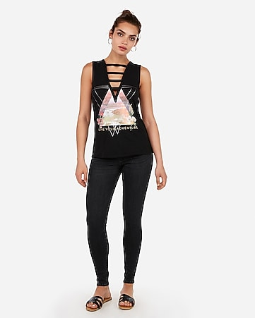 afee6175ae42 Women's Graphic Tees - Graphic T-Shirts & Tank Tops - Express