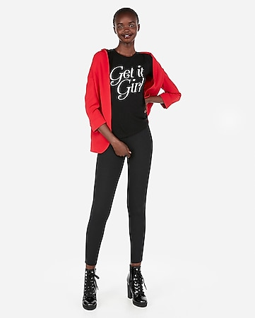 b99a10c4b5adf7 Express View · express one eleven get it girl slim graphic tee