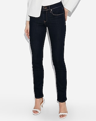 petite mid rise stretch skinny jeans