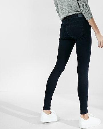 petite mid rise stretch+ supersoft jean leggings