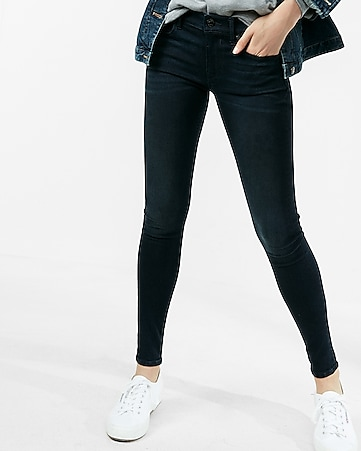 petite mid rise stretch+supersoft ankle jean leggings