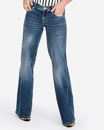 low rise original wide leg jeans