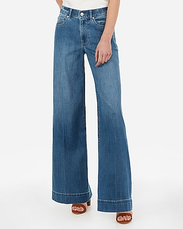 cfe0a5df56 Express View · high waisted wide leg jeans