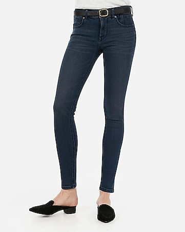 mid rise denim perfect lift ankle leggings